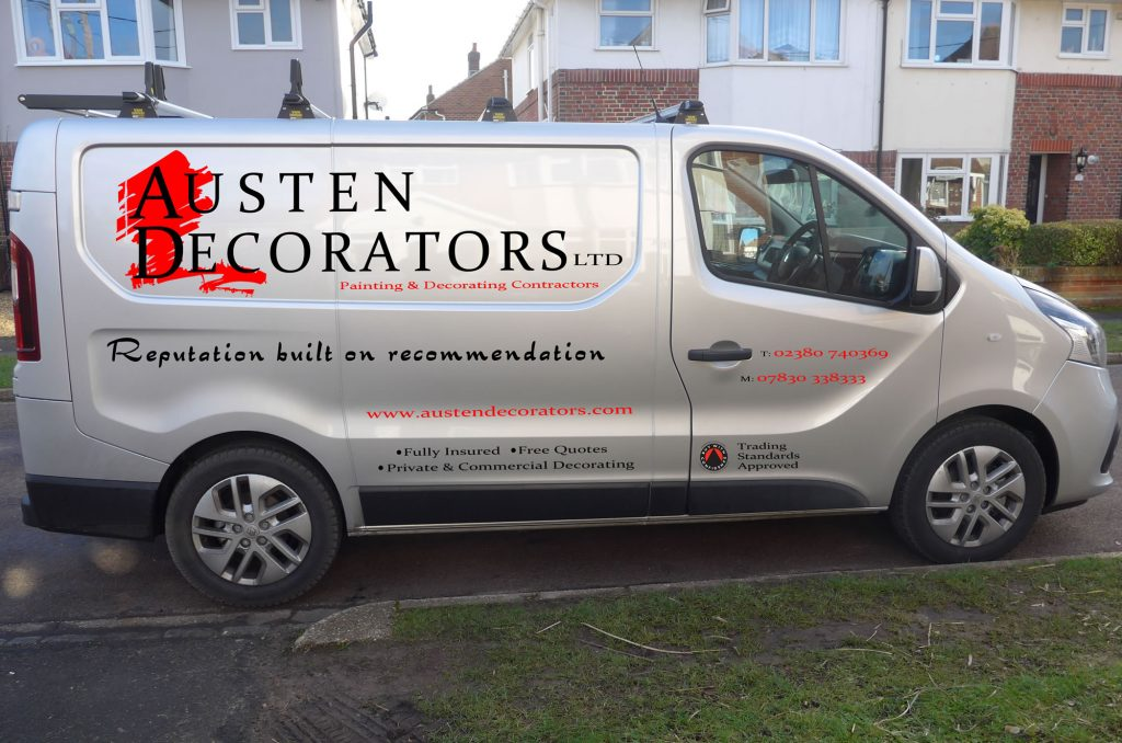 Austen Decorator's New 2017 Van