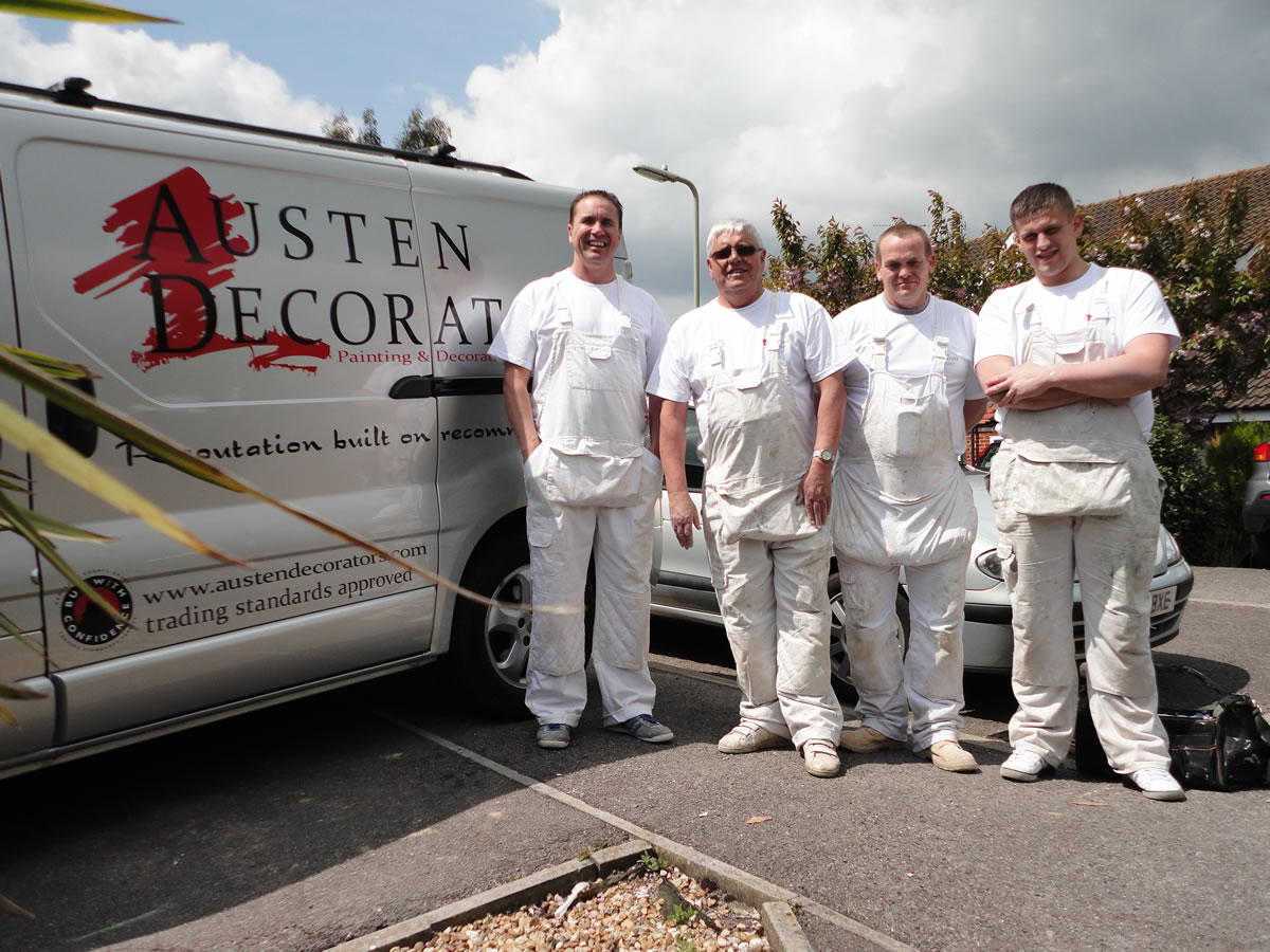 Austen & The Team for Cowboy Builders