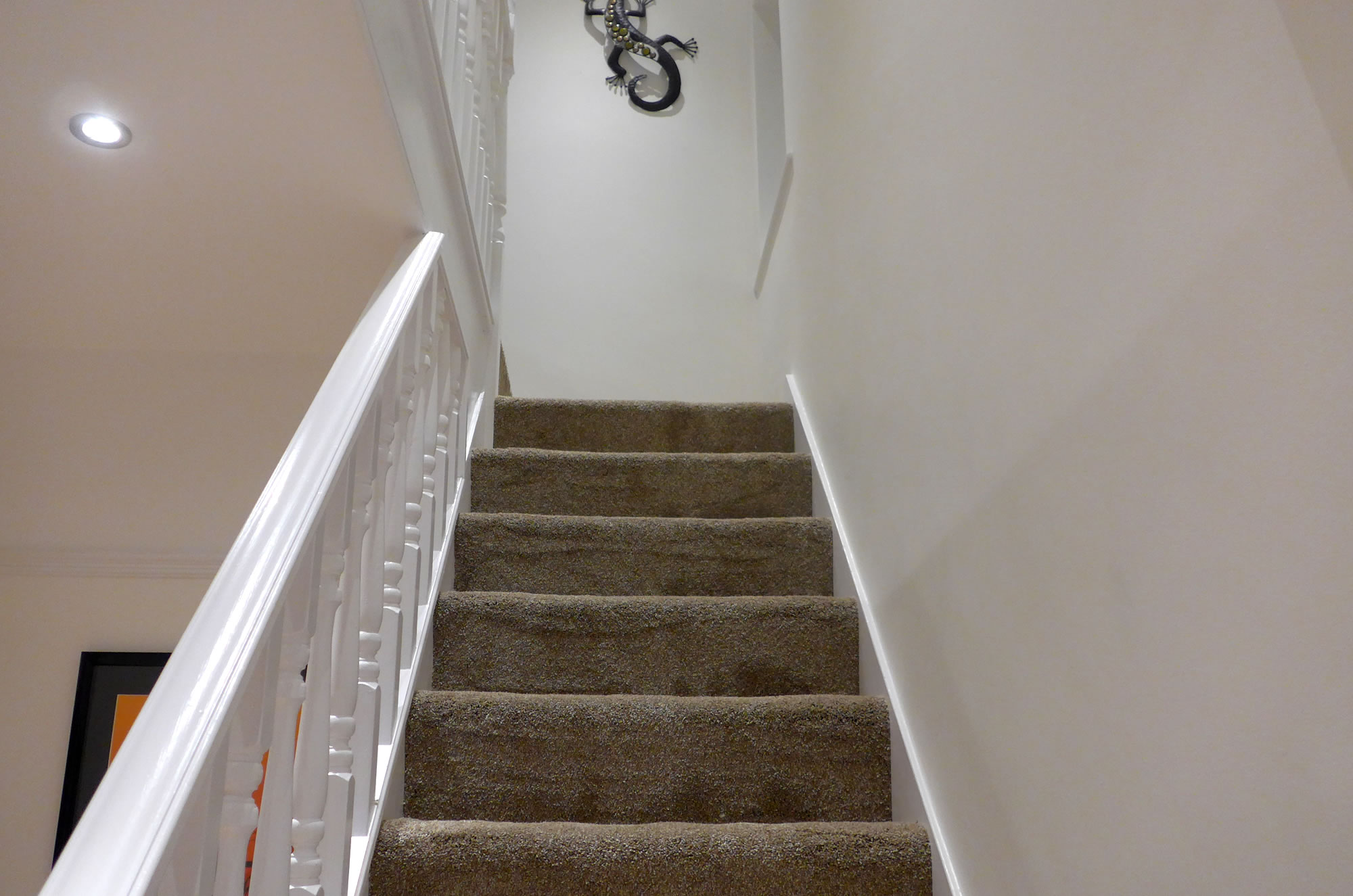 Regents Park Southampton, staircase and hallway painted